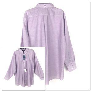 Stafford Men's Lavender Dress Shirt
